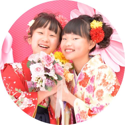 小学生卒業袴 スタジオパック(イメージ)