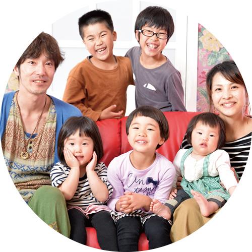 家族写真・夫婦写真 スタジオパック(イメージ)