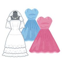 ドレス(イメージ)