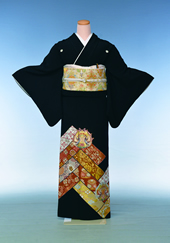 黒留袖(2)